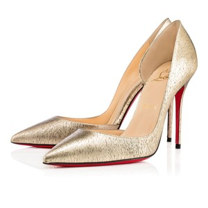 c03f15f622d Christian Louboutin Limited Edition Gold Pumps