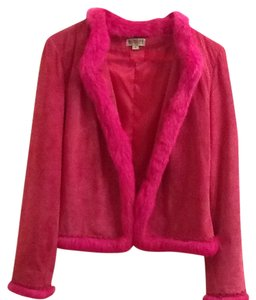 Georgiou Studio Pink Leather Jacket