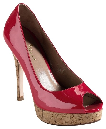 Cole Haan Nike Air Patent Leather Red Pumps