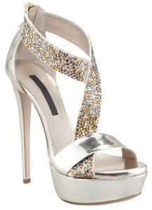 Ruthie Davis Light Gold Sandals