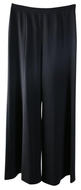 Item - Black Wide-leg High-waisted Pants Size 0 (XS, 25)