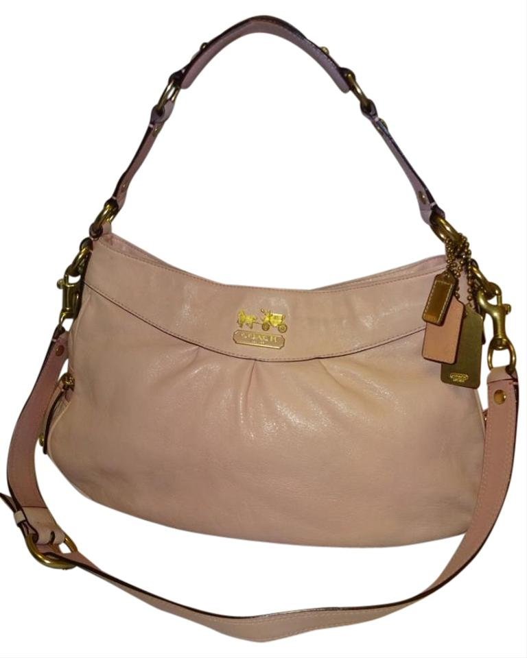 99a3fac16769d ... low price coach madison clip on strap shoulder boutique full price  store hobo bag a775f 08523