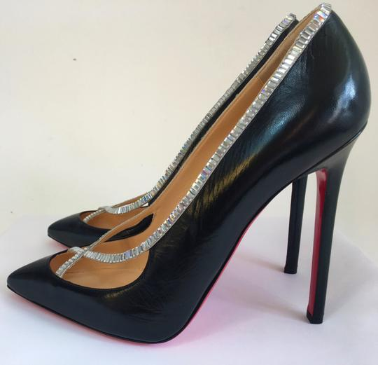 Christian Louboutin Sandals Slingback Daffodile Black Pumps Image 5
