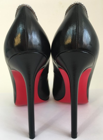 Christian Louboutin Sandals Slingback Daffodile Black Pumps Image 6