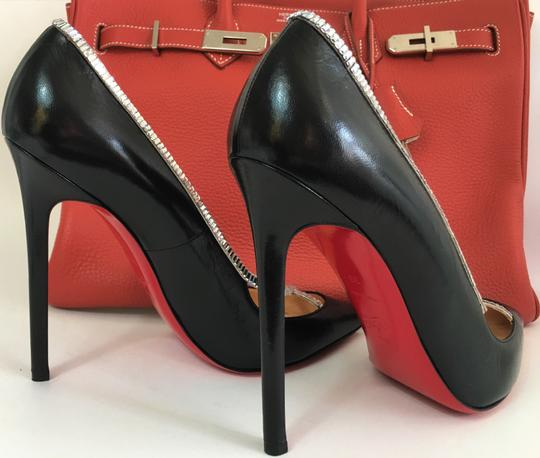 Christian Louboutin Sandals Slingback Daffodile Black Pumps Image 7