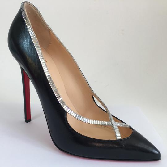 Christian Louboutin Sandals Slingback Daffodile Black Pumps Image 8