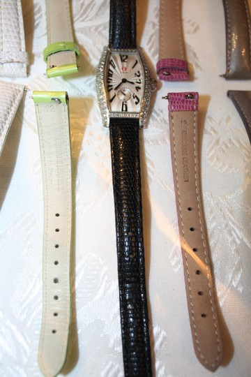 Michele Michele Diamond Coquette Stainless Steel Watch **Vintage** Image 9