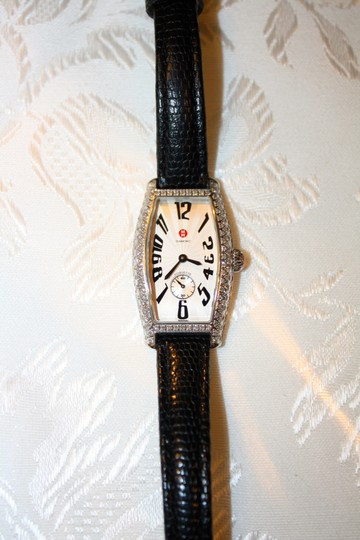 Michele Michele Diamond Coquette Stainless Steel Watch **Vintage** Image 1