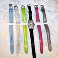 Michele Michele Diamond Coquette Stainless Steel Watch **Vintage** Image 10
