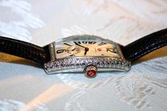 Michele Michele Diamond Coquette Stainless Steel Watch **Vintage** Image 3