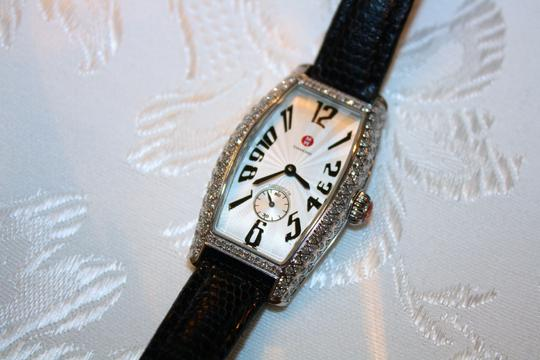 Michele Michele Diamond Coquette Stainless Steel Watch **Vintage** Image 4