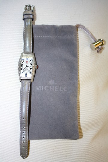 Michele Michele Diamond Coquette Stainless Steel Watch **Vintage** Image 7