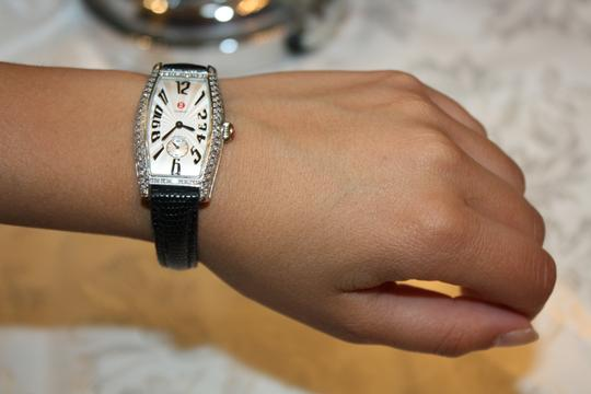 Michele Michele Diamond Coquette Stainless Steel Watch **Vintage** Image 8
