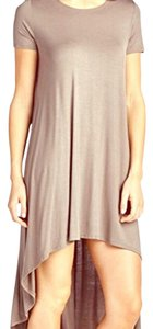 Love Culture short dress tan on Tradesy