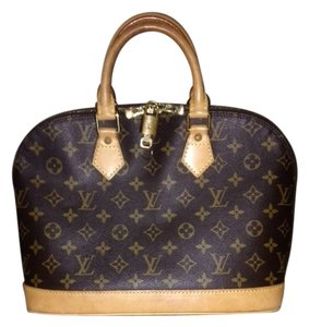 Louis Vuitton Alma Pm Satchel in Monogram