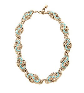 Lulu Frost Gold & Turquoise Alchemy Necklace