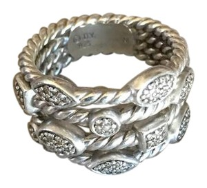 David Yurman 4 Row Confetti Ring