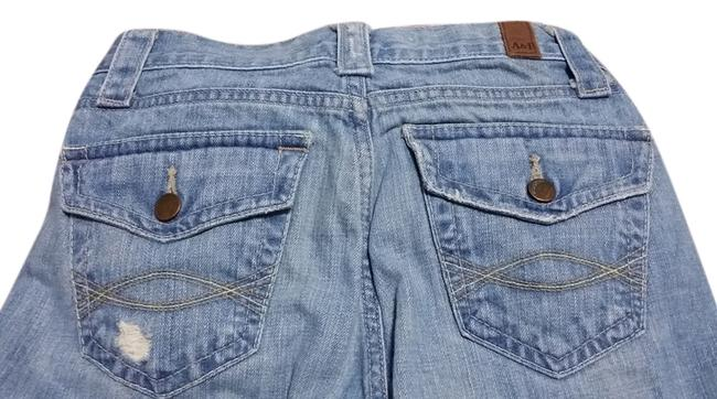 Abercrombie & Fitch Vintage Distressed Boot Cut Jeans