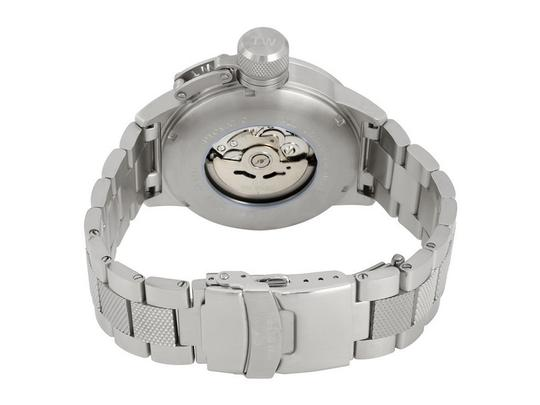 TW Steel CB15 Canteen Men's Silver Stainless Steel Bracelet With Blue Dial Image 2