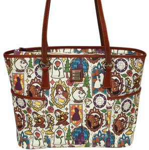 Dooney & Bourke Tote in white multi