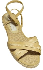 Stella McCartney Espadrille Crisscross Beige Sandals