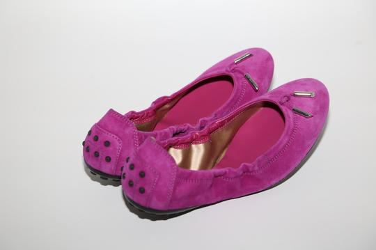 Tod's Suede Pink Flats Image 11