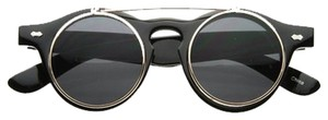 Urban Outfitters UO Black Flip Top Sunglasses
