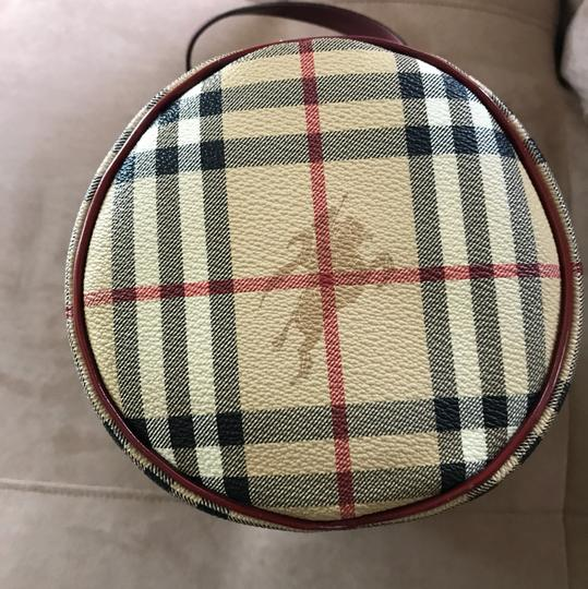 Burberry Satchel in Tan Haymarket Image 1