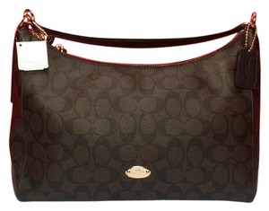 Coach Satchel in BROWN/BLACK