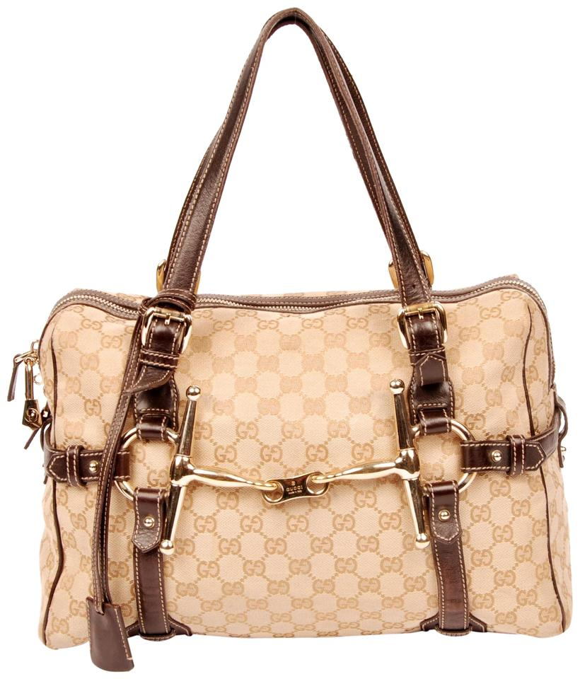 87b64a01d6c Gucci Boston 85th Anniversary Limited Edition Satchel Brown Monogram ...