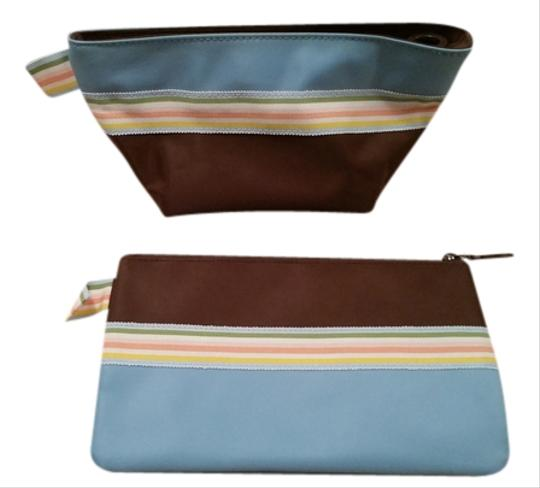 Sephora Sephora - set of two striped cosmetic bags