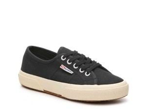 Superga #classic Sneaker Black Athletic