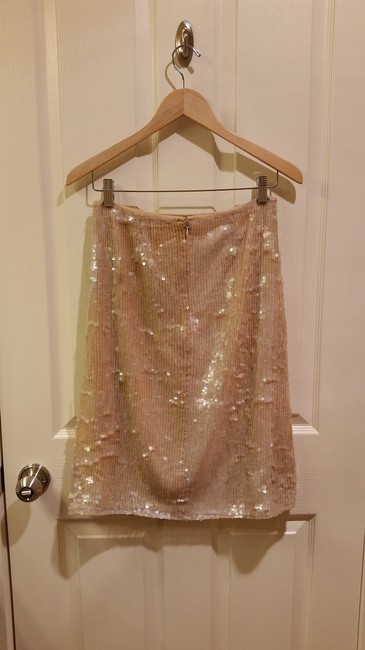 Clifford & Wills Sequin Skirt Nude Image 3