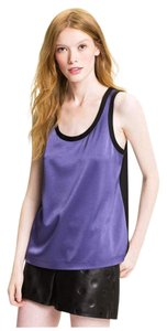 Marc by Marc Jacobs Top Violet Purple / Black