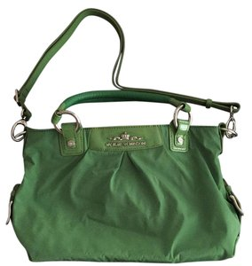 My Flat in London Satchel in green