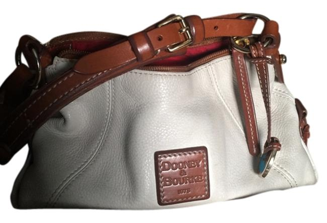 Item - White Leather Baguette