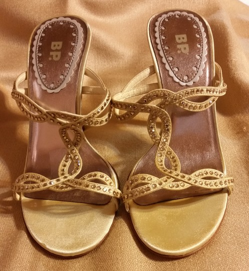 BP. Clothing gold Sandals