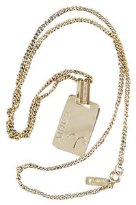 Lanvin Rare Lanvin Aries GF zodiak pendant necklace