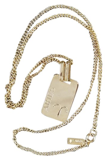 Preload https://img-static.tradesy.com/item/21982565/lanvin-gold-rare-aries-gf-zodiak-pendant-necklace-0-1-540-540.jpg