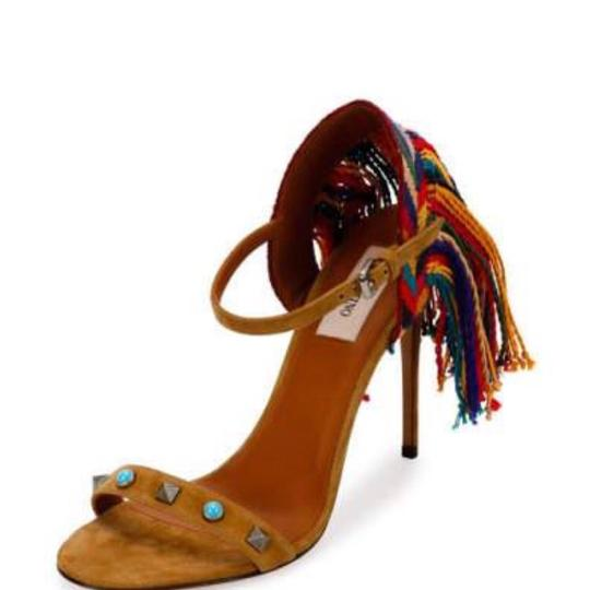 Valentino brown blue red green yellow multi Sandals Image 1