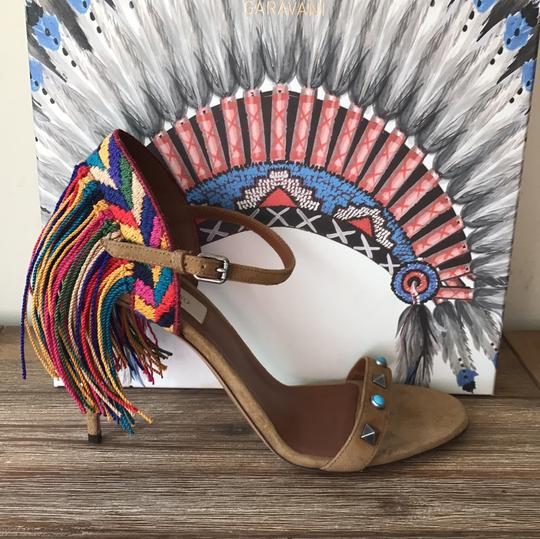 Valentino brown blue red green yellow multi Sandals Image 11