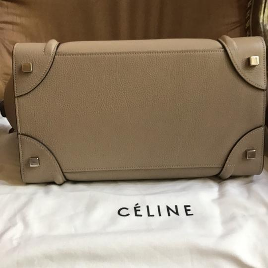 Céline Tote in drummed calfskin (basically like a nude/taupe color)