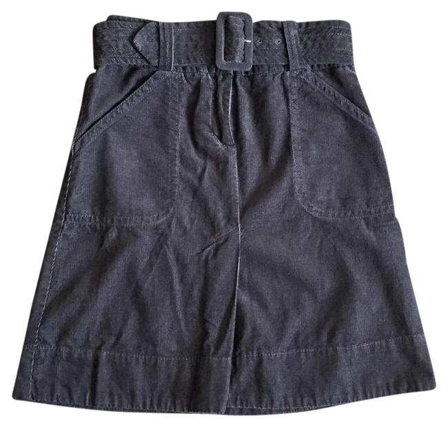 Preload https://img-static.tradesy.com/item/21983626/h-and-m-grey-dark-a-line-belted-corduroy-skirt-size-4-s-27-0-2-650-650.jpg