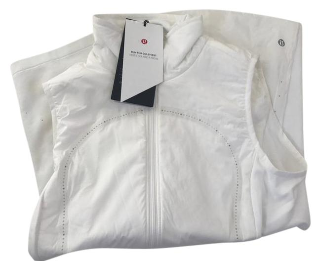 Item - White Run For Cold Vest Size 6 (S)