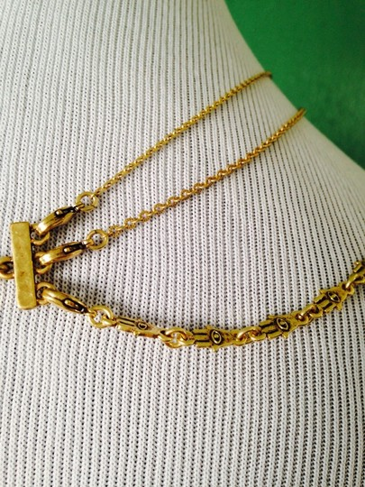 Lucky Brand 4-Ways To Wear, Multi-Color Crystal Gold-Tone Hand Necklace Image 5