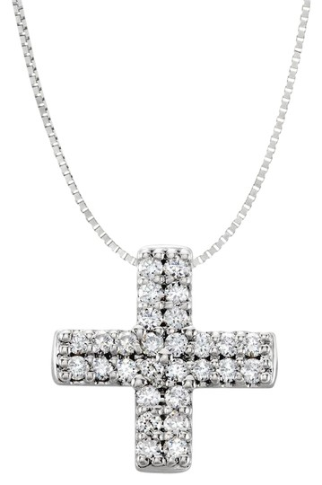 Preload https://img-static.tradesy.com/item/21984918/white-cubic-zirconia-sterling-silver-religious-cross-pendant-quater-carat-cz-0-1-540-540.jpg