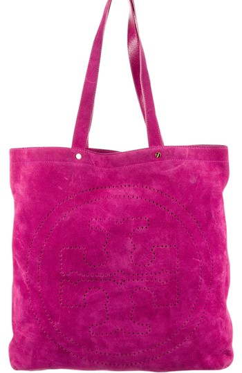 Preload https://img-static.tradesy.com/item/21984933/tory-burch-t-perforated-rasberry-suede-tote-0-4-540-540.jpg