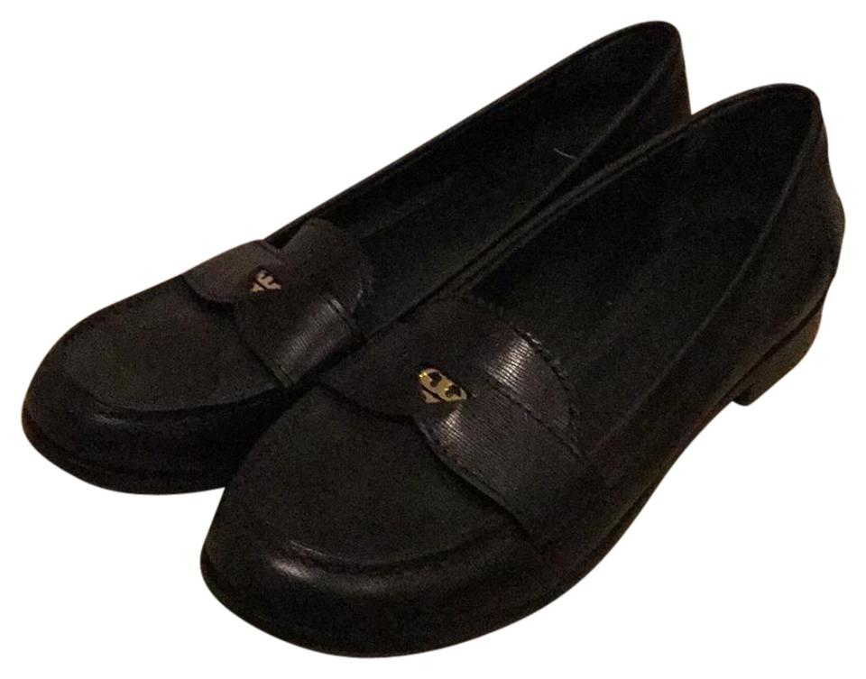 06e10b61bf3 Tory Burch Black Penny Loafer Flats Size US 8.5 Regular (M