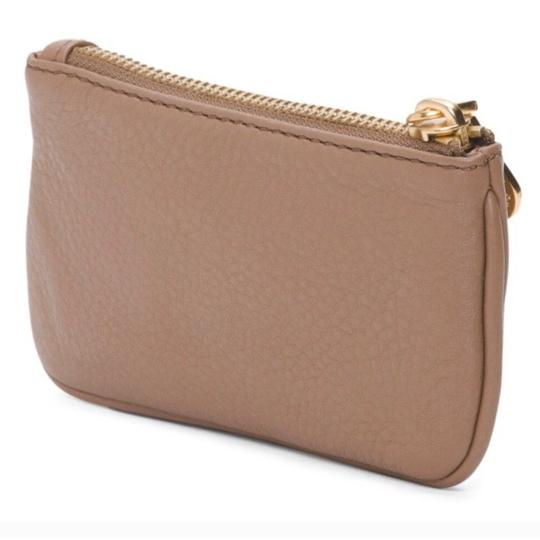 Marc by Marc Jacobs NWT Too Hot To Handle Praline Tan Leather Key Pouch Wallet Image 1