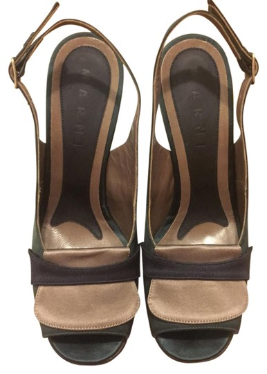 Preload https://img-static.tradesy.com/item/21985365/marni-hunt-green-and-brown-satin-sandals-size-us-7-regular-m-b-0-1-540-540.jpg